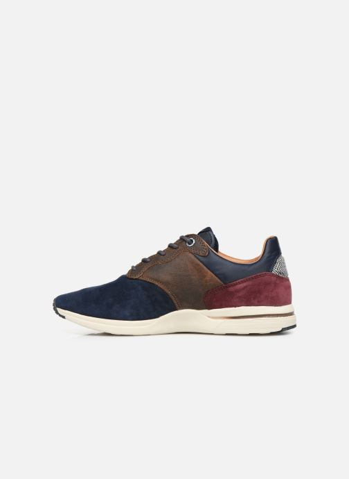 Trainers Pepe jeans Jayker Lth Mix Multicolor front view
