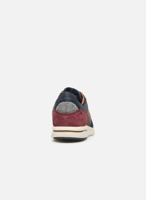 Trainers Pepe jeans Jayker Lth Mix Multicolor view from the right