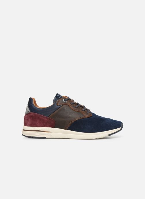 Trainers Pepe jeans Jayker Lth Mix Multicolor back view