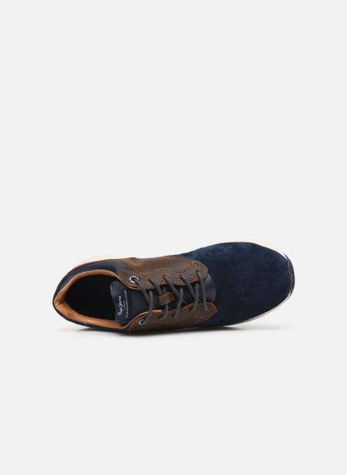 Trainers Pepe jeans Jayker Lth Mix Multicolor view from the left