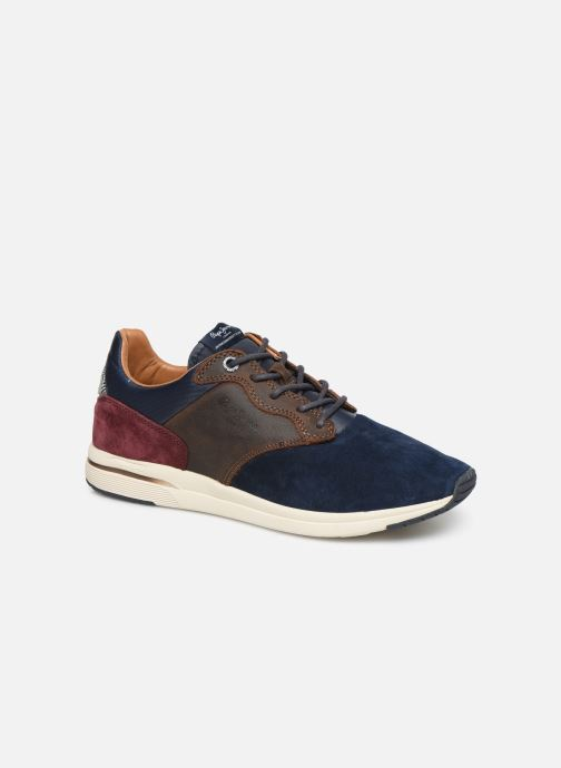 Baskets Pepe jeans Jayker Lth Mix Multicolore vue détail/paire