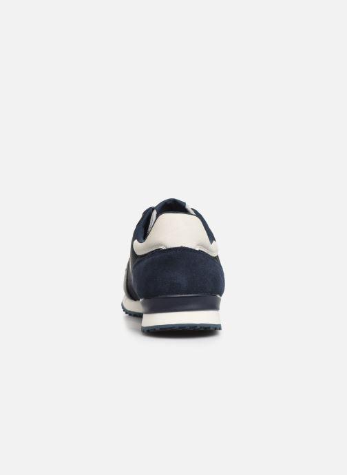Sneaker Pepe jeans Tinker Zero 19 blau ansicht von rechts