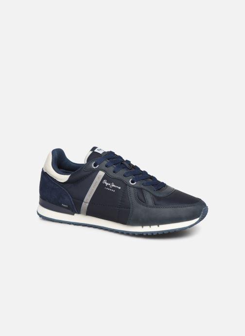 Sneaker Pepe jeans Tinker Zero 19 blau detaillierte ansicht/modell