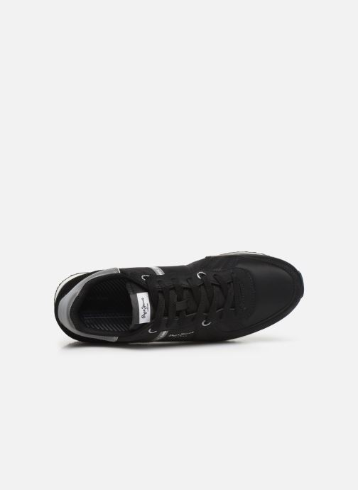 Baskets Pepe jeans Tinker Zero 19 Noir vue gauche