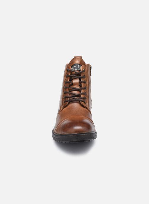 Bottines et boots Pepe jeans Porter Boot Marron vue portées chaussures