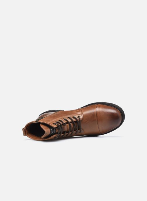 Botines  Pepe jeans Porter Boot Marrón vista lateral izquierda