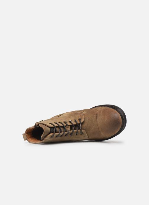 Botines  Pepe jeans Porter Boot Suede Marrón vista lateral izquierda