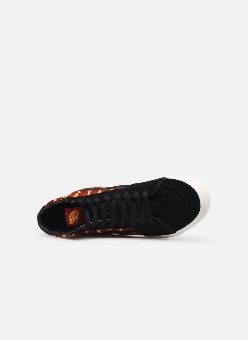 Sneakers Vans SK8-Hi M Zwart links