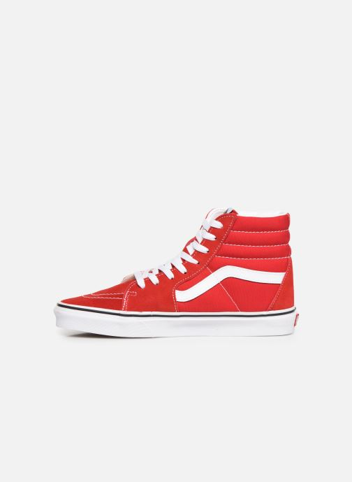 Baskets Vans SK8-Hi M Rouge vue face