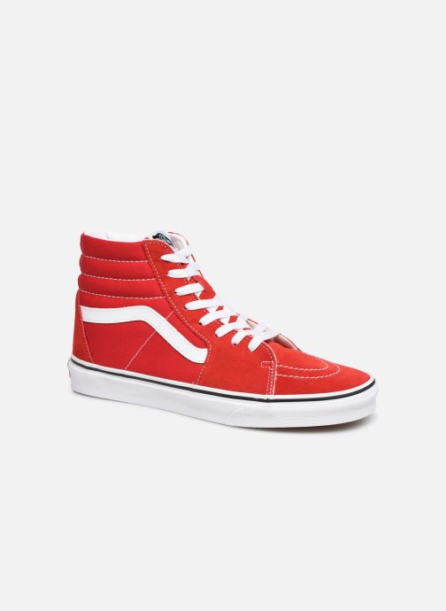 Trainers Vans SK8-Hi M Red detailed view/ Pair view