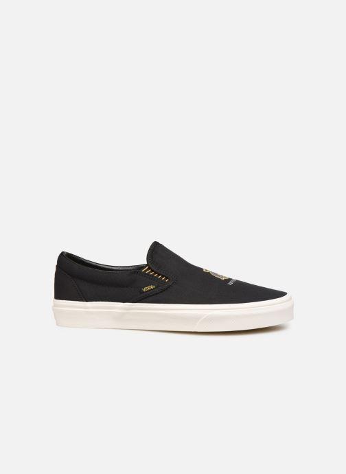 Sneakers Vans Classic Slip-On M Zwart achterkant