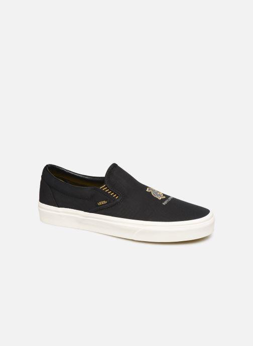 Sneakers Vans Classic Slip-On M Zwart detail