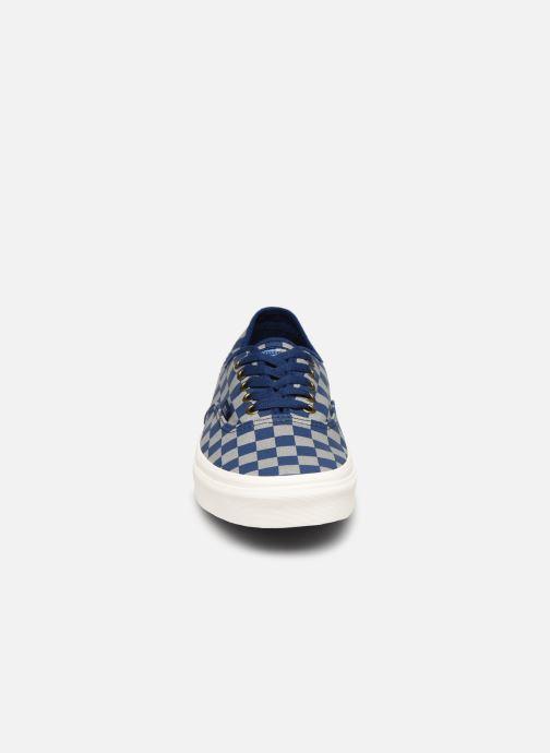 Baskets Vans Authentic M Bleu vue portées chaussures