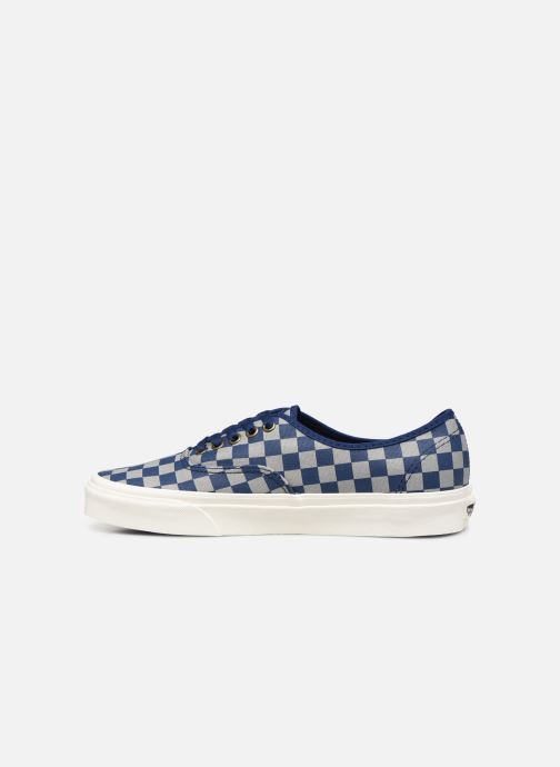 Sneaker Vans Authentic M blau ansicht von vorne