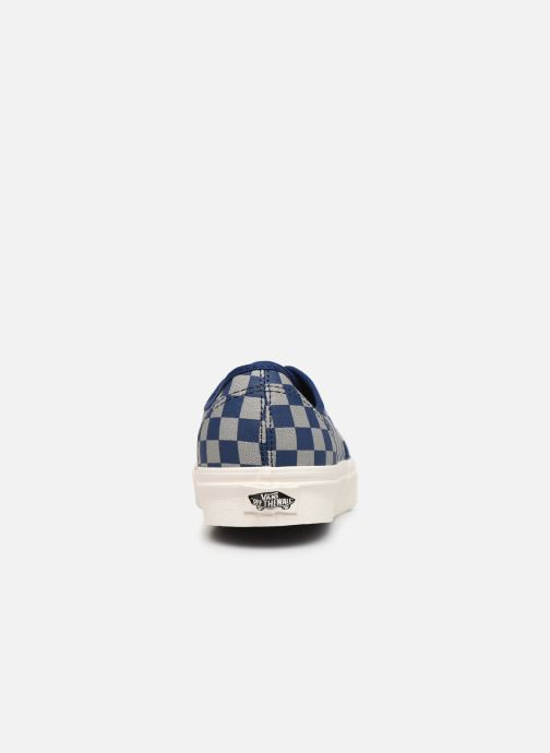 Baskets Vans Authentic M Bleu vue droite