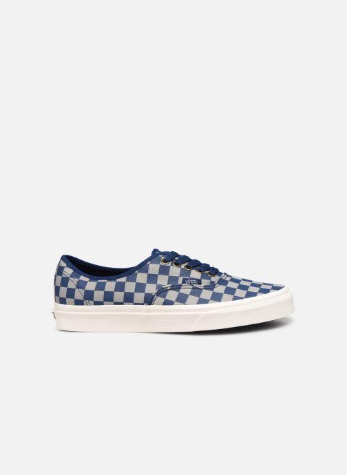 Sneaker Vans Authentic M blau ansicht von hinten