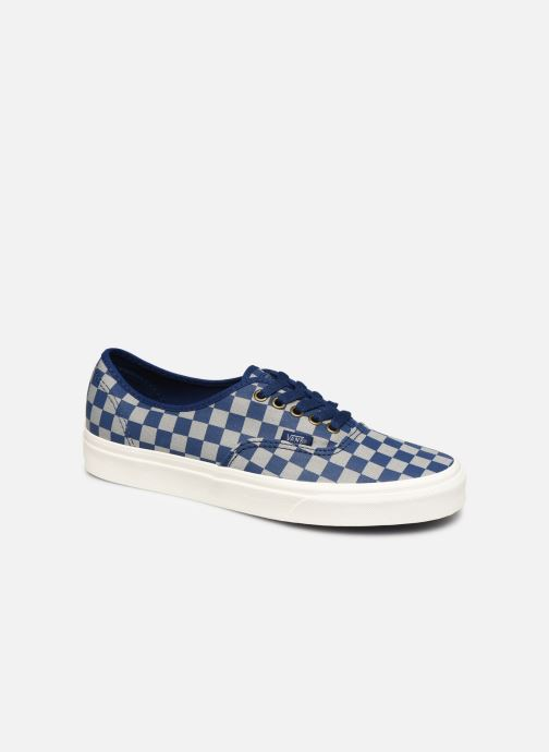 Baskets Vans Authentic M Bleu vue détail/paire