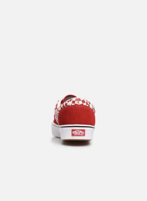 Baskets Vans ComfyCush Era M Rouge vue droite