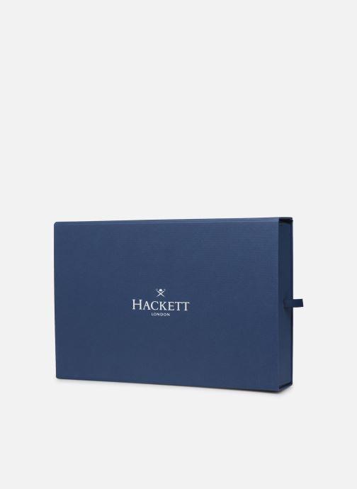 Mütze Hackett London SCARF&BEANIE SET weinrot schuhe getragen