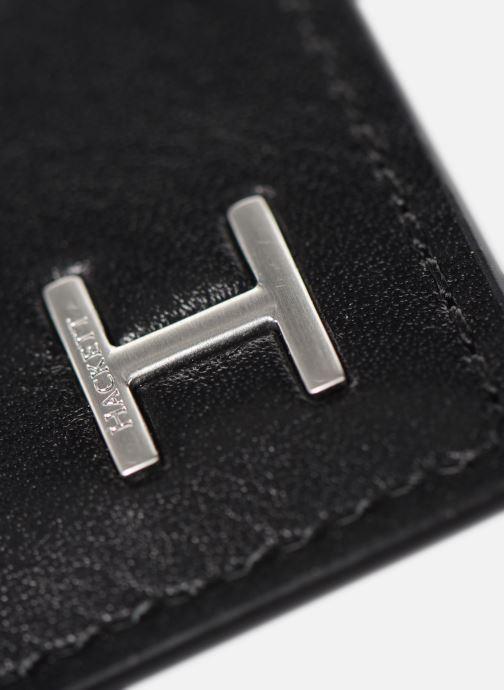 Petite Maroquinerie Hackett London H CARD HOLDER Noir vue gauche