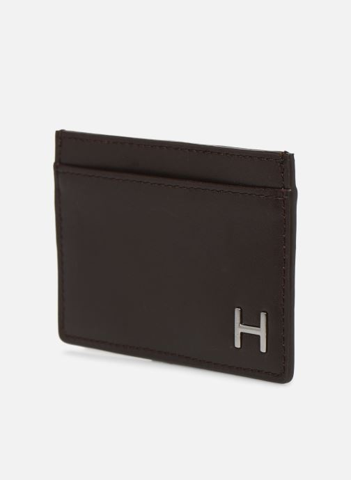 Petite Maroquinerie Hackett London H CARD HOLDER Marron vue portées chaussures