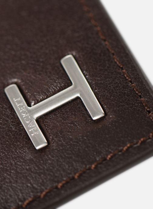 Petite Maroquinerie Hackett London H CARD HOLDER Marron vue gauche