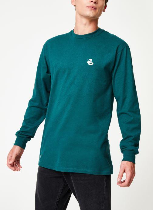 Vêtements Vans Harry Potter Slytherin LS Vert vue détail/paire