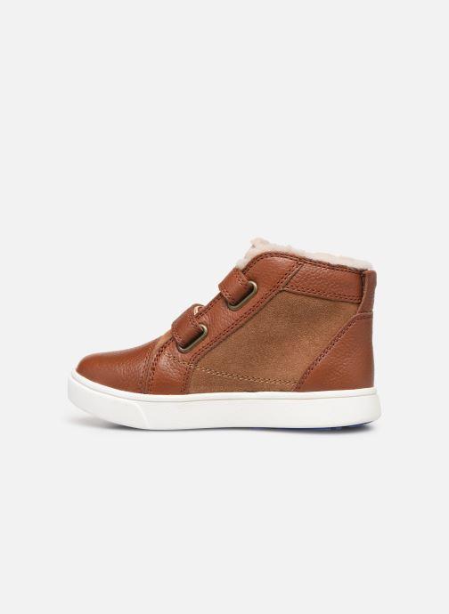 Sneakers UGG Rennon II Bruin voorkant