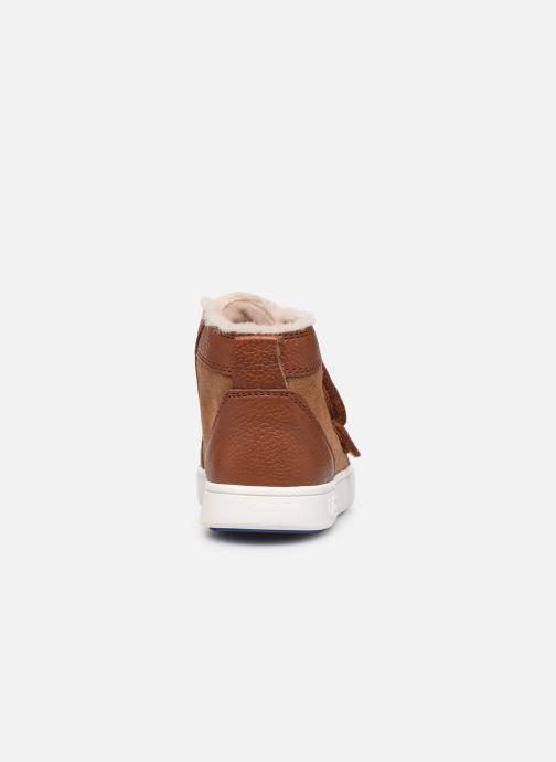 Sneakers UGG Rennon II Bruin rechts