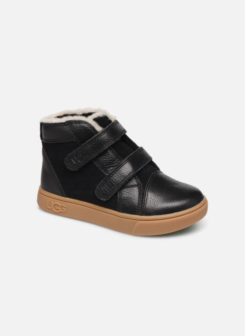 Trainers UGG Rennon II Black detailed view/ Pair view