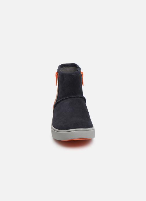 Bottines et boots UGG Adler Sneaker K Bleu vue portées chaussures