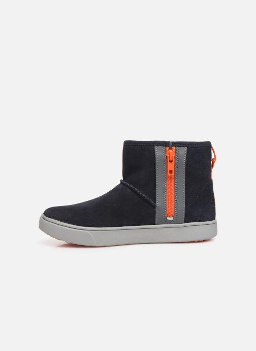 Bottines et boots UGG Adler Sneaker K Bleu vue face