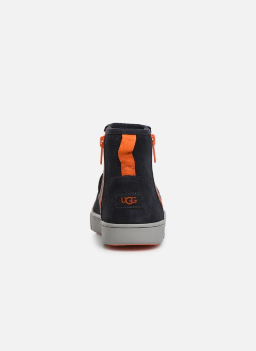 Botines  UGG Adler Sneaker K Azul vista lateral derecha