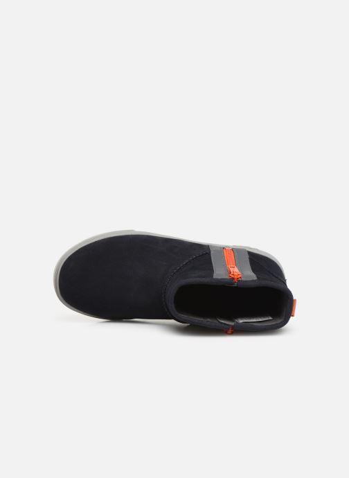 Bottines et boots UGG Adler Sneaker K Bleu vue gauche