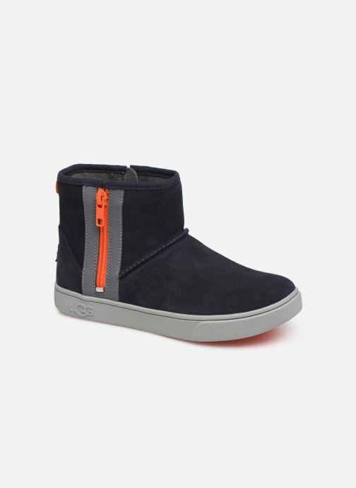 Bottines et boots UGG Adler Sneaker K Bleu vue détail/paire