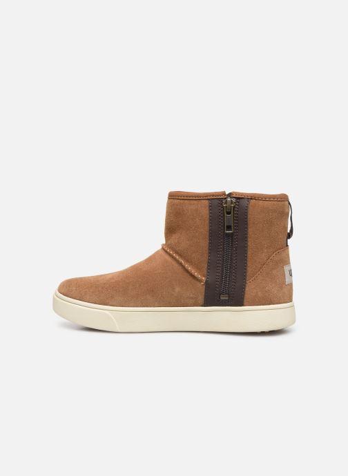 Boots en enkellaarsjes UGG Adler Sneaker K Bruin voorkant