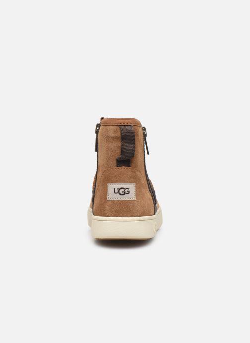 Boots en enkellaarsjes UGG Adler Sneaker K Bruin rechts