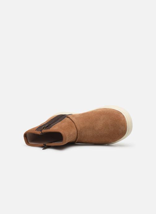 Bottines et boots UGG Adler Sneaker K Marron vue gauche