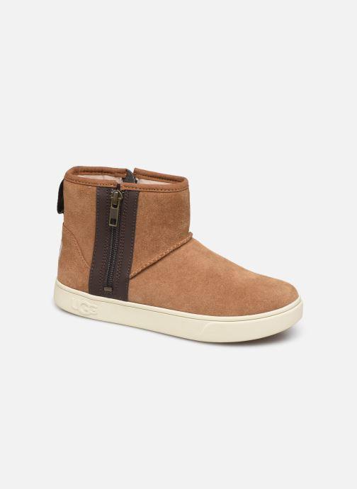 Bottines et boots UGG Adler Sneaker K Marron vue détail/paire