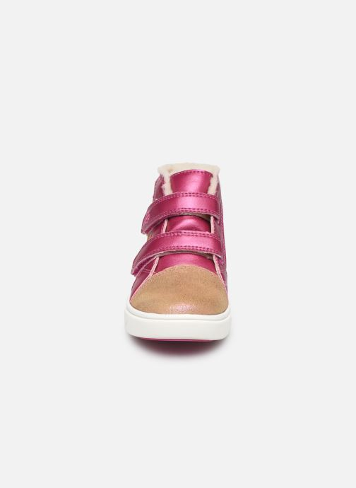 Baskets UGG Rennon II Shimmer Marron vue portées chaussures