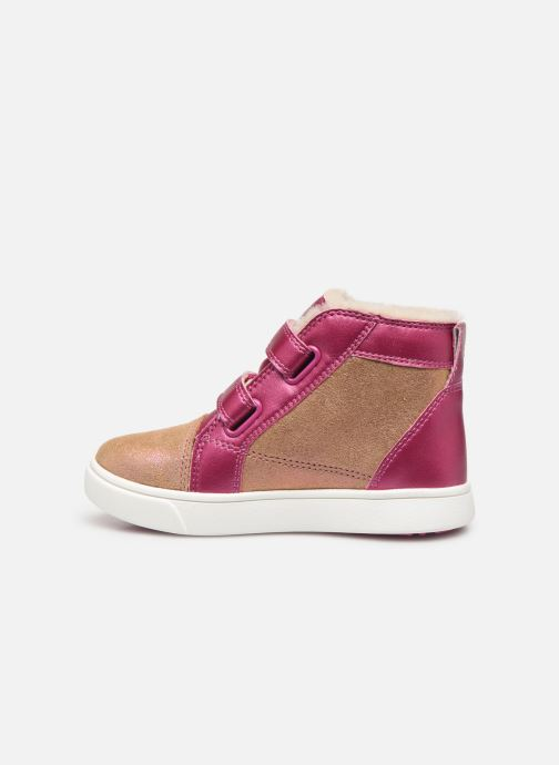 Baskets UGG Rennon II Shimmer Marron vue face