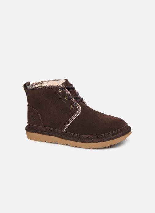 Bottines et boots UGG Neumel II Tasman K Marron vue détail/paire