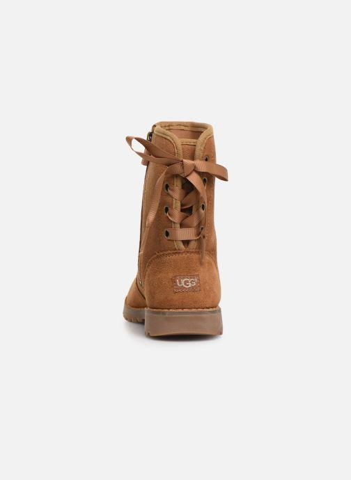 Bottines et boots UGG Corene K Marron vue droite