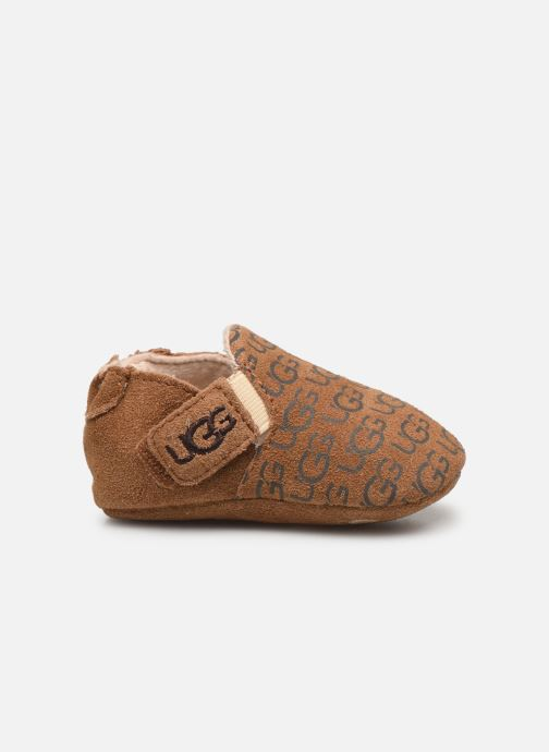Pantofole UGG Roos K Marrone immagine posteriore
