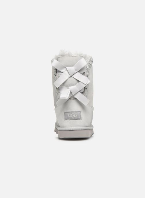 Bottes UGG Classic Short II Braided K Gris vue droite