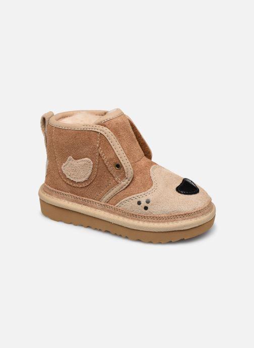 Bottines et boots UGG Happee Neumel II K Marron vue détail/paire