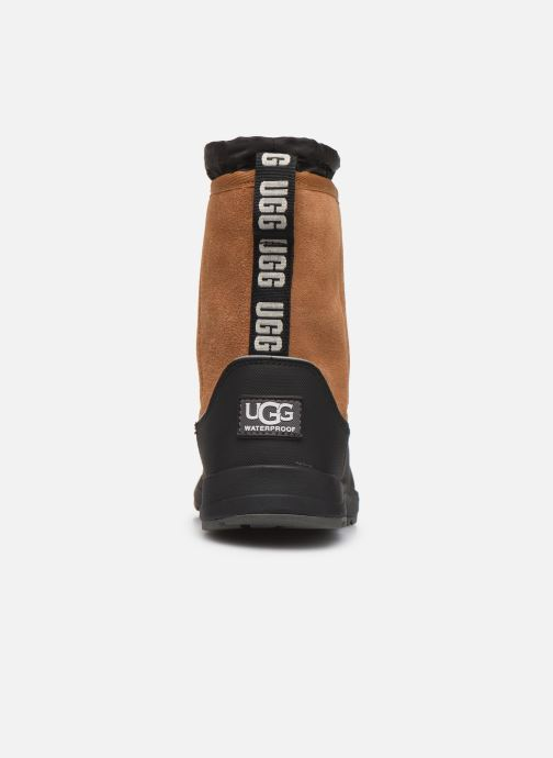 Sport shoes UGG Kirby Wp K Brown view from the right