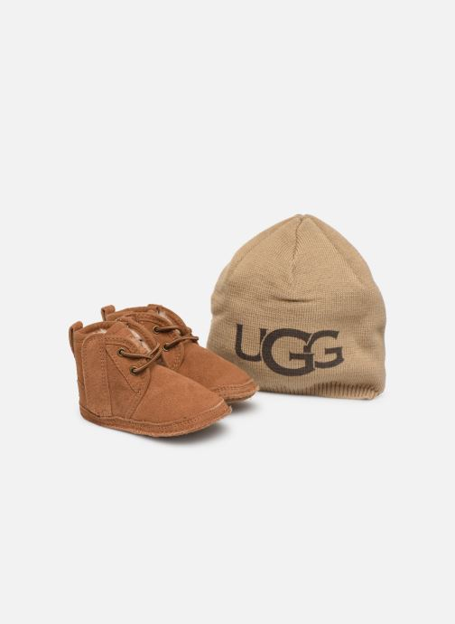 Slippers UGG Baby Neumel & Ugg Beanie Brown 3/4 view