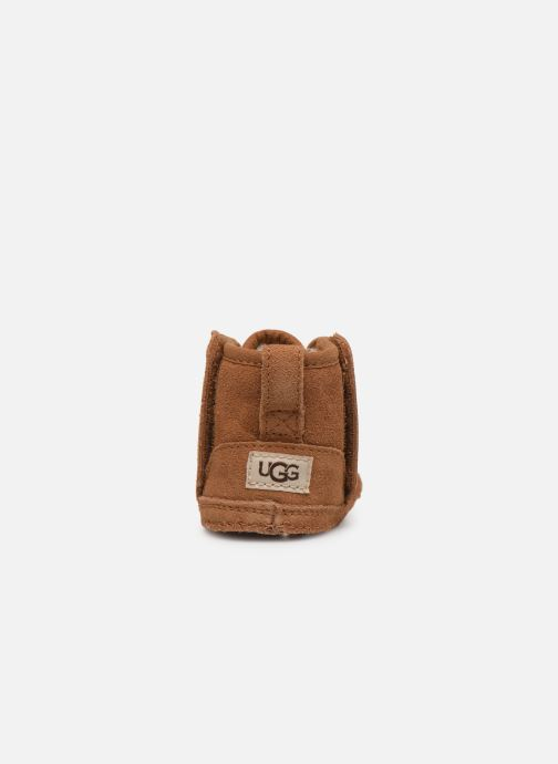 Chaussons UGG Baby Neumel & Ugg Beanie Marron vue droite