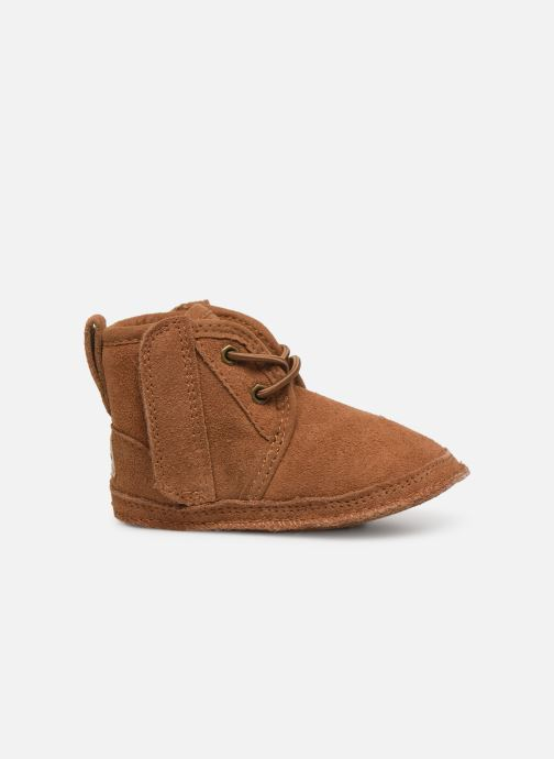Slippers UGG Baby Neumel & Ugg Beanie Brown back view
